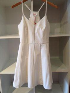 White Parker dress - summer staple!