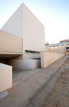 Helena's Villa is a minimalist house located in Safi, Malta, designed by Grech & Vinci Architecture & Design.