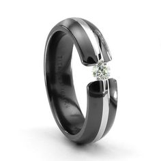 black gold ring. really like this one #blackgold