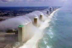 Clouds in Panama City - Florida
