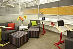 Workspace Family Room featuring DIRTT