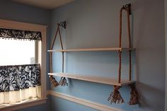 DIY Rope Shelf | DIY Show Off ™ - DIY Decorating and Home Improvement Blog