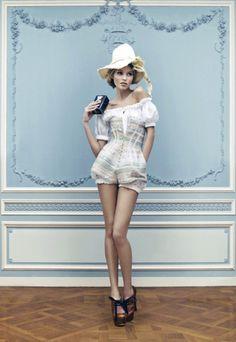 Ulyana Sergeenko-Haute Couture SS 2013-Lookbook-Nick Suhkevich-3