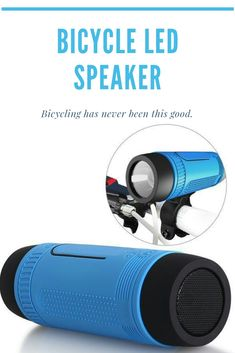 Our Bicycle LED Speaker is the perfect the item if you want to enjoy your favorite tunes while riding your bicycle. Comes with several features such water resistant, Powerful LED Light, Bluetooth, built-in Microphone, and much more. Get yours today before they run out of stock.