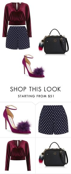"""""""Ootd"""" by phamthuquynh on Polyvore featuring Jimmy Choo, Zizzi, River Island and Tommy Hilfiger"""