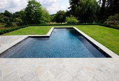 geometric minimalism #modern #backyard #luxury #pool