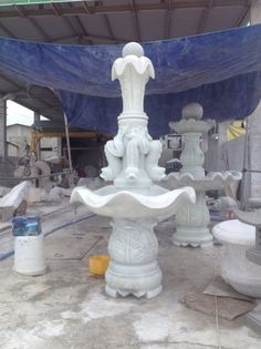 Fountain in white marble.  Pls contact danang.marble@gmail.com or danangmarble.com.vn for order or more information.