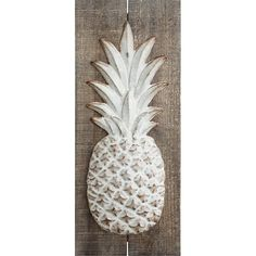 Pinapple Room Decor Fresh Bay isle Home Pineapple Wall Décor In 2019 Pinapple Room Decor, Pineapple Wall Decor, Pineapple Kitchen, Wall Decor Set, Rustic Wall Decor, Rustic Walls, Metal Wall Decor, Wall Decorations, Rustic Wood