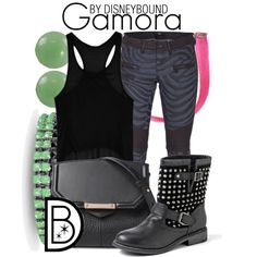 """Gamora"" by leslieakay on Polyvore"