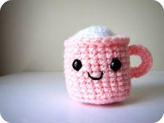 crochet eggnog #amigurumi