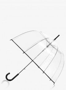 Parasolka Stripe Out Black Umbrella