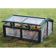 Have to have it. Riverstone Industries Genesis 3 x 3 ft. Cold Frame Greenhouse - $79.99 @hayneedle