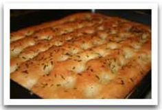 Italian Dinner Party Focaccia Bread