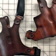 Handmade Leather Chest Holsters