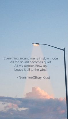 Sunshine - Stray Kids