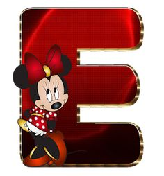 Mickey Mouse Letters, Minnie Mouse Images, Mickey Minnie Mouse, Minnie Mouse Background, Cute Alphabet, Alphabet Letters, Minnie Png, Mouse Parties, Letters And Numbers