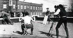 Fascinating photos and article. Walt Disney and his colleagues at the Laugh-O-gram studio in Kansas City in Harvey House, Silent Film Stars, Walt Disney Company, Voice Actor, Animation Film, Vintage Disney, Worlds Largest, Kansas City, Filmmaking