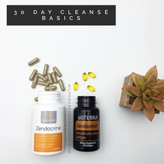 There are 2 Zendocrine products - Zendocrine soft gels (the same as the oil blend) and Zendocrine Detoxification Complex. You will want to take both forms during the 30 day cleanse. Zendocrine® Softgels support your body's natural detoxification system with a proprietary blend of Tangerine, Rosemary, Geranium, Juniper Berry, and Cilantro essential oils.* Zendocrine helps cleanse the body of toxins and free radicals that can slow the body's systems down, leaving a heavy, weighted feeling…