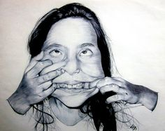 Found Art, Gcse Art, Facial Expressions, Drawings, Illustration, David, Color, Mirrors, Behance