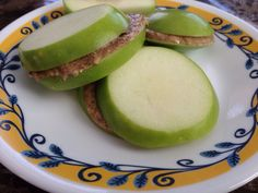 Apple and Almond Butter Sandwiches: paleo, whole30, whole life challenge
