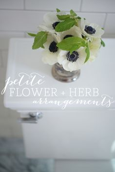 Petite Flower   Herb Arrangements