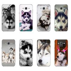 Phone Case For Samsung Galaxy Back Cover Note 4 5 7 TPU Shell Cellphone Wacky Husky Design Painted Husky, Cheap Phone Cases, Apple Iphone 5, Phone Cover, Paint Designs, Portable, 6s Plus, Note, Samsung Galaxy