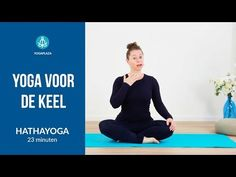 Yoga voor de keel - YouTube Yoga Gym, Pranayama, Reiki, Pilates, Fitness, Youtube, Dna, Pop Pilates, Youtubers