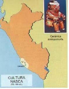 La Cultura Nazca fue una civilizacion precolombina que se desarrollo en la costa sur del actual pais de Perú . Los antecedentes más antiguos...