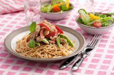 Bönpasta med kyckling | MåBra - Nyttiga recept
