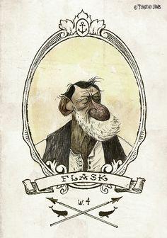 Character Illustration, Illustration Art, Tom Bagshaw, Character Art, Character Design, Harry Potter Illustrations, Color Pencil Art, Skull Art, Art Sketchbook