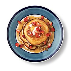 Strawberry Griddle Cakes Recipe | SAVEUR