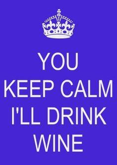 u keep calm lol
