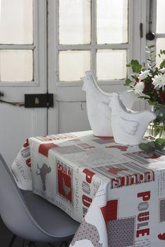 Toile cirée supérieure Vénilia Collection 2017 Ma poule 54098