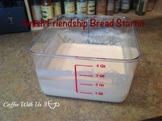 Amish Friendship Bread Starter by Coffee With Us 3 #recipes