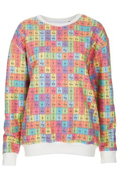 26 best periodic tables images on pinterest periodic table periodic table sweatshirt by tee and cake from top shop urtaz