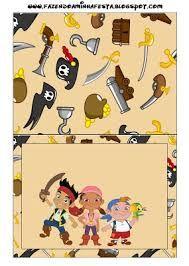 Resultado de imagen para kit imprimible candy bar jake y los piratas
