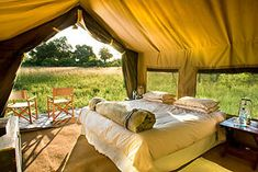 East Africa Private Journey -Day 8-10 Lodging Serengti Under Canvas