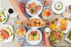 Start the good day with the yummy breakfast Fresh Rolls, Rock, Breakfast, Ethnic Recipes, Morning Coffee, Skirt, Locks, The Rock, Rock Music