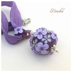 Beusha Joyeria: New Flower Dream Necklace