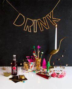 Festive Holiday Drink Stirrers