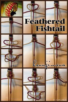 Feathered Fishtail Paracord Bracelet Tutorial
