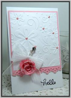Hello! by Ashdale - Cards and Paper Crafts at Splitcoaststampers