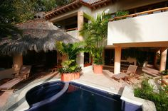 Casa San Francisco and Casita - San Pancho, Mexico - Beautifully furnished 3 bedroom villa - For information and reservations click here: http://www.sanpanchorentals.com/3bedroom/casa_san_francisco_casita.html