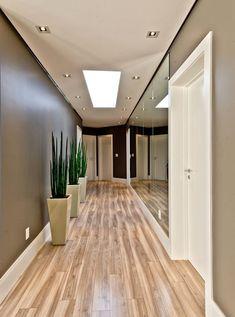 Circulação dos quartos: Corredores e halls de entrada por Espaço do Traço arquitetura