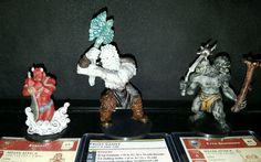 Dungeons and Dragons miniatures lot of 31 pcs.