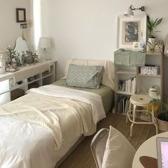 Room Design Bedroom, Small Room Bedroom, Room Ideas Bedroom, Bedroom Decor, Bedroom Bed, Minimalist Room, Aesthetic Room Decor, Cozy Room, Dream Rooms