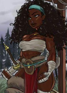 🎨 and repost from - . ( is a platform dedicated to celebrating anime / manga media that… Black Love Art, Black Girl Art, Black Is Beautiful, Black Girl Magic, Art Girl, Warrior Princess, Princess Art, Black Cartoon Characters, Black Girl Cartoon