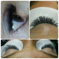 45 Best Lash extensions - Flawless Lashes Student work images in