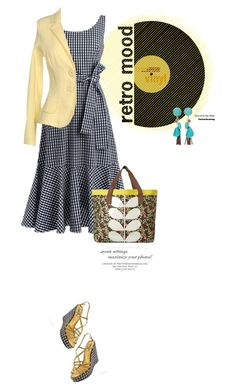 """""""retro mood."""" by vinograd24 ❤ liked on Polyvore featuring J.Crew, MbyMAIOCCI, Chico's and Orla Kiely"""