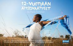 12-vuotiaan äitiysvaatteet / Plan International Finland